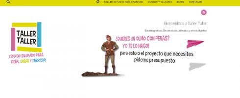 tallertaller.es, nuevo sitio web creado por Tadigra