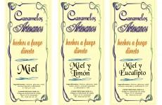 Etiquetas para caramelos