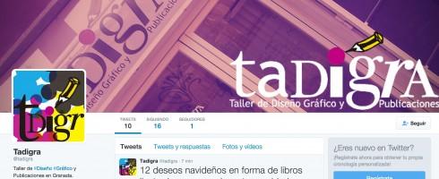 Tadigra ya está en Twitter